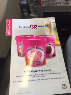 BR promotion on Airasia Flight *.*