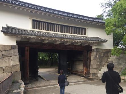Gerbang dari arah dalam Kawasan Castle